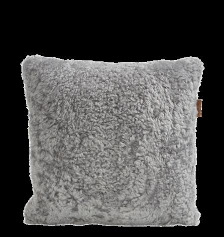 Shepherd of Sweden Lina Pillow - Granite/Light Grey Wool