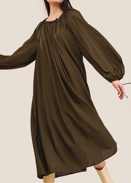 Shaina Mote Lila Dress - Olive