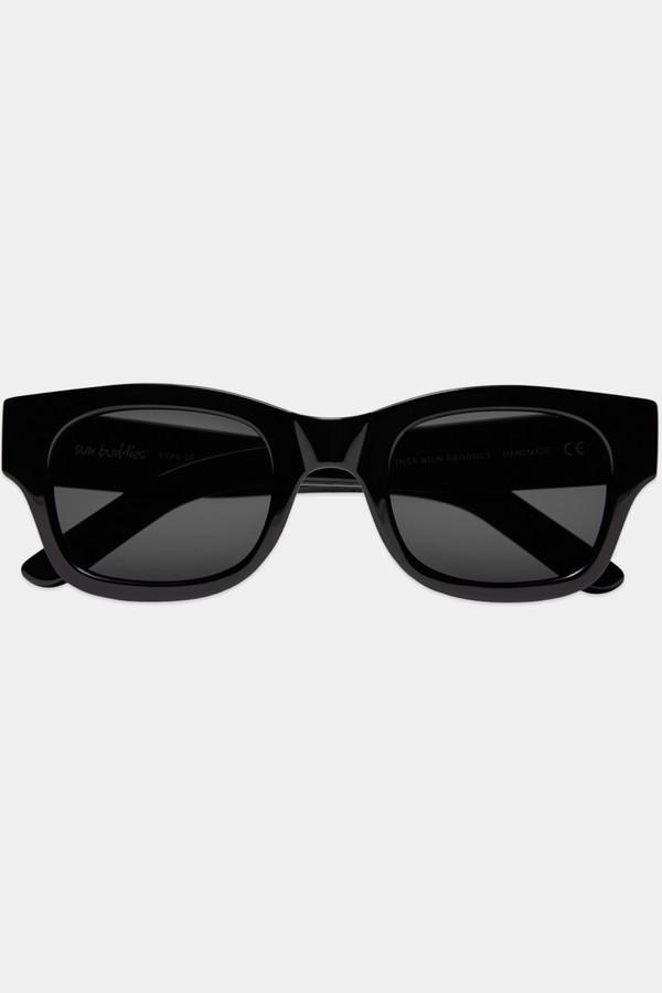 Sun Buddies Acetate Lubna Sunglasses - Black