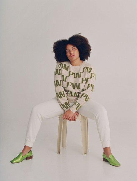 Paloma Wool Windows Knit Sweater - Ecru