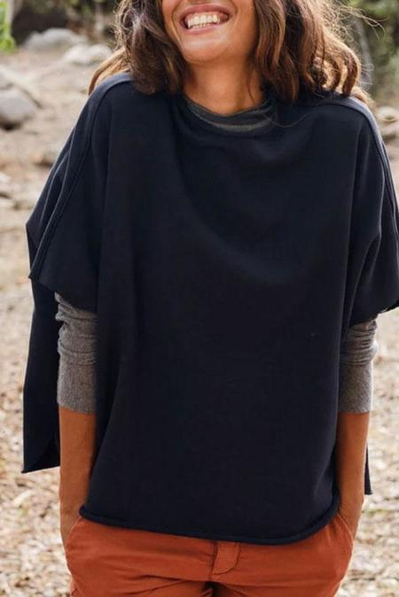 Tee Lab Funnel Neck Capelet - British Royal Navy