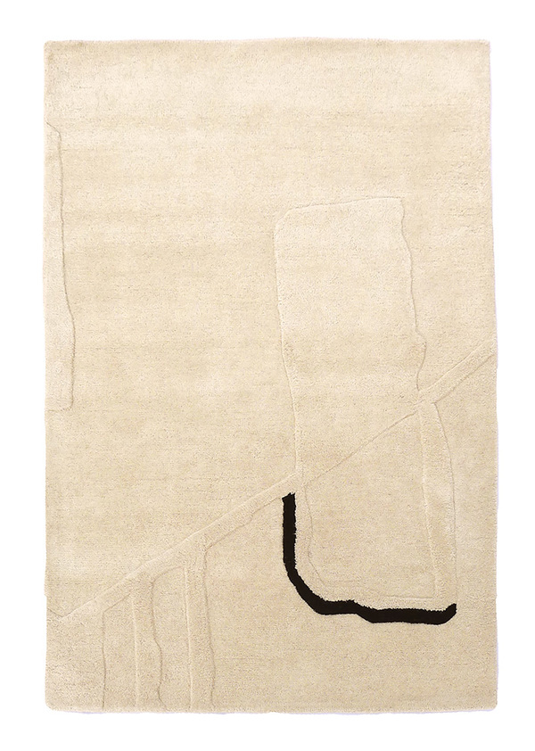 """rugs Cold Picnic """"Cenotes"""" 4 x 6"""" Rug"""