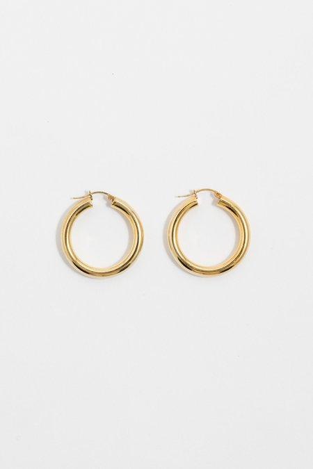 Aro Medium Hoop Earrings