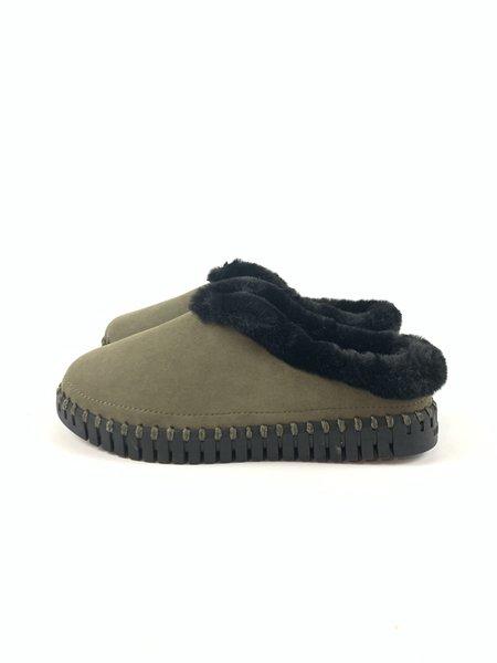 Ilse Jacobsen Tulip 3150 shoes - Deep Olive