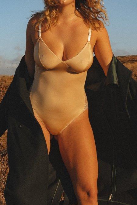 Fortnight Seamless Bodysuit - Ivory