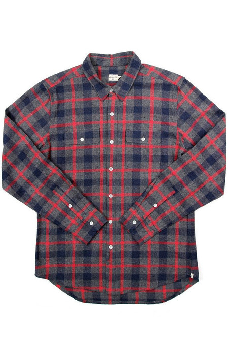 Men's Bridge & Burn - Franklin Charcoal Plaid