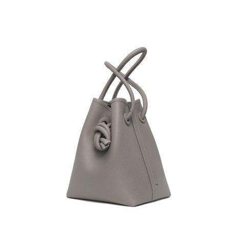 Vasic Bond Leather Bucket Bag - Ash