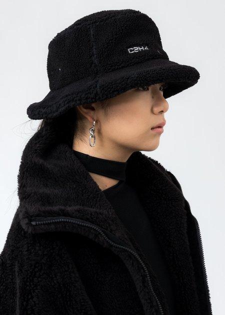 C2H4 Fleece Bucket Hat - Black