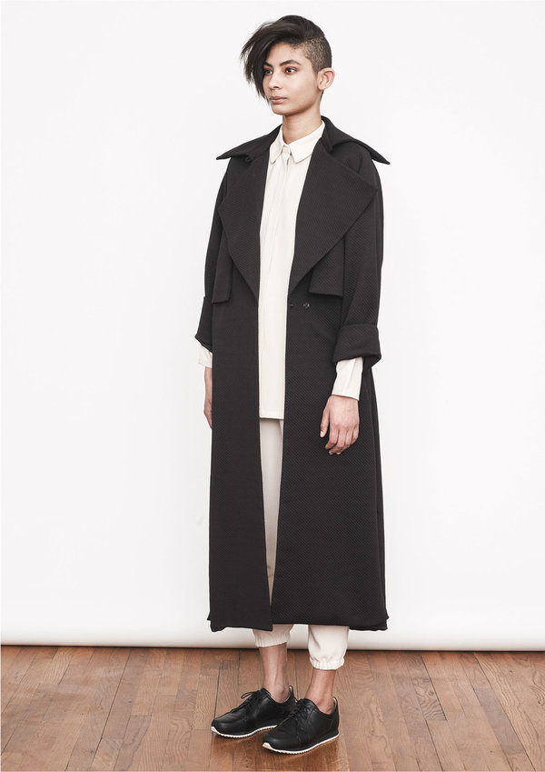 Berenik TRENCHCOAT DARK GREY