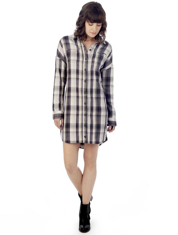Alternative Apparel Timberwood Shirt Dress