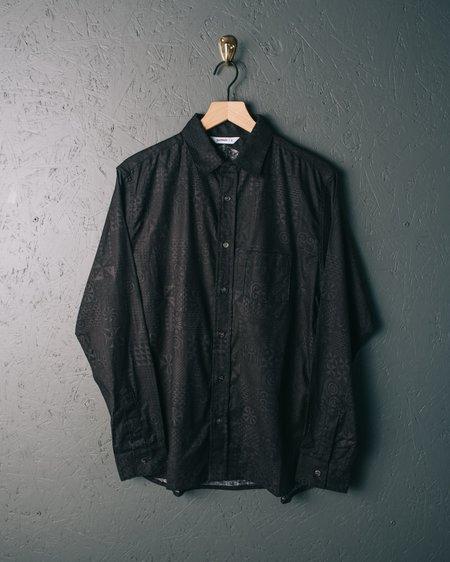 3sixteen LS Button Down Shirt - Black Geo