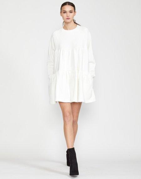 Cynthia Rowley Vail Cozy Swing Dress - White