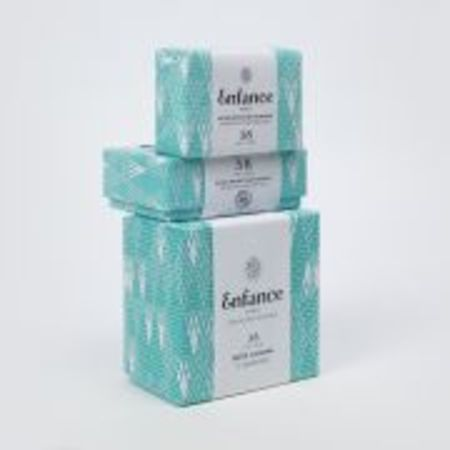 Enfance Paris Box of 3 Protective Purifying Soaps 3-8 years old