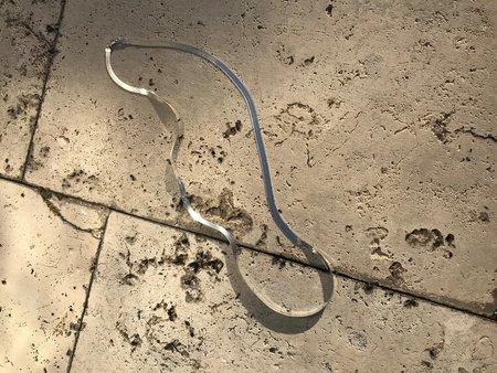 Horizons Vintage Long herringbone chain