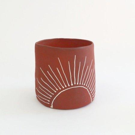 Kelsey Melville Ceramics: Sunshine Planter - Terracotta
