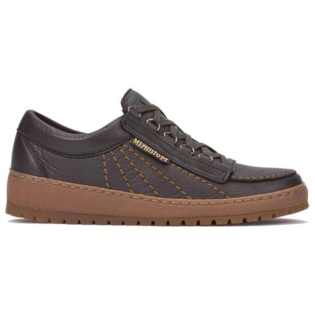 Mephisto Rainbow Leather Shoes - Brown