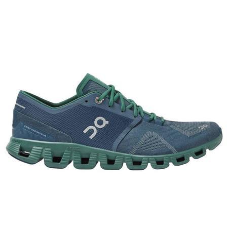 ON Running Cloud X Sneaker - Storm / Tide
