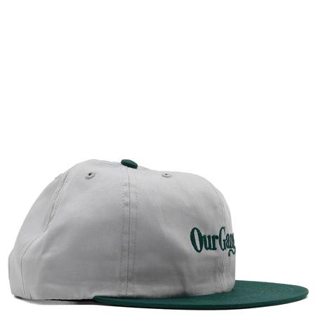 Powers Our Gang Cap - Grey/Green