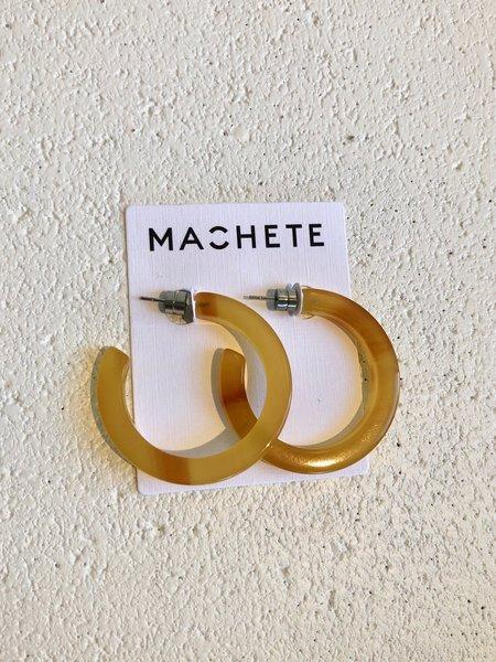 Machete Midi Hoops - Cognac