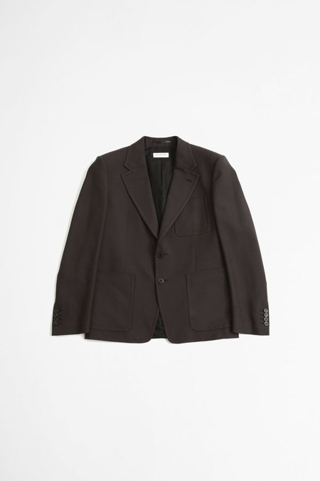 Dries Van Noten Barras Jacket - Dark Brown