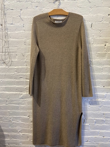 Mijeong Park Sweater Dress - Beige