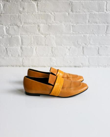 [Pre-loved] Freda Salvador Leather Loafers