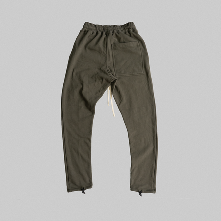 Reborn Garments Adjustable Sweatpant - Olive