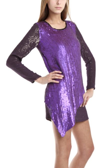 3.1 Phillip Lim Sequin Embellished Dress - Purple