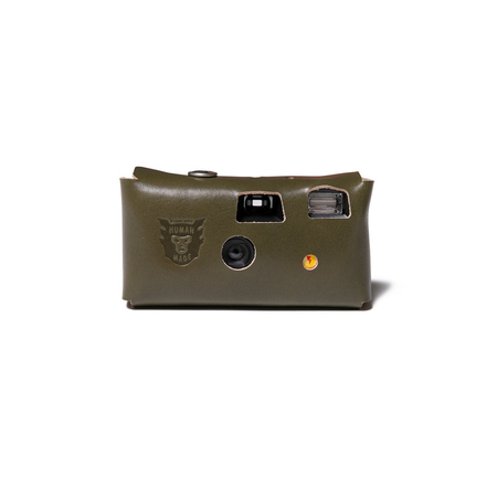 Human Made Leather Camera Case #K - Olive Drab