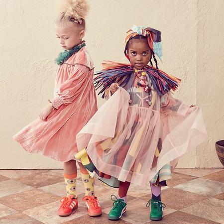 KIDS Tia Cibani Kids Child Tulle Layering Dress - Flamingo Pink