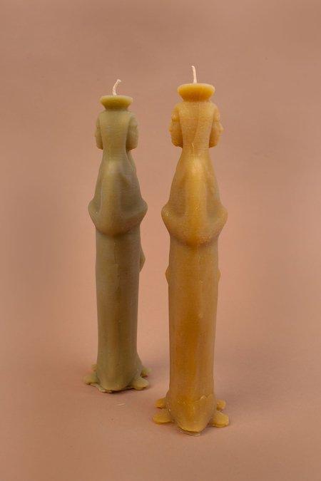Eliana Glass Ariadne Woman With Two Heads Candle