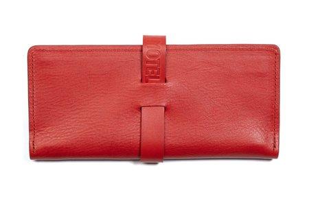 HOTEL MOTEL Queen Wallet - Red