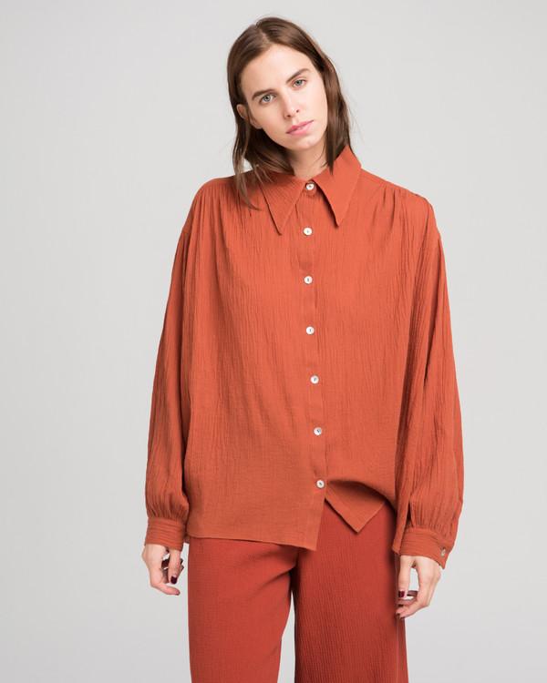 Luisa et la Luna Julie blouse in rust