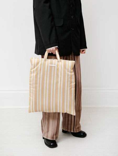 Our Legacy Pillow Tote - Padded Gradient Yellow