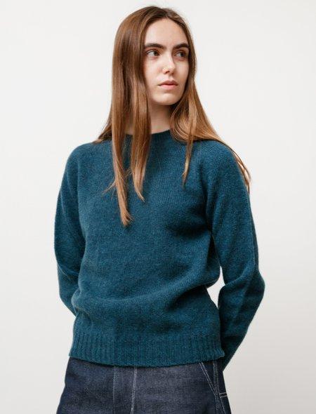 Neighbour Womens Shetland Sweater Storm