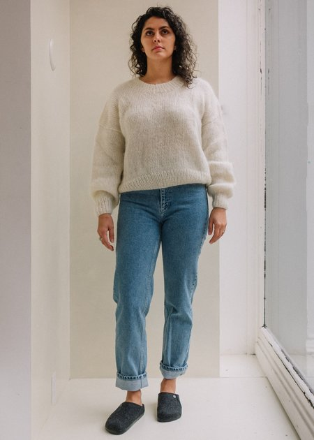 Kowtow Cloud Hand Knit Sweater - Natural
