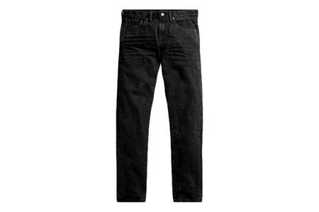 RRL Slim Narrow Jean Worn - Black Wash