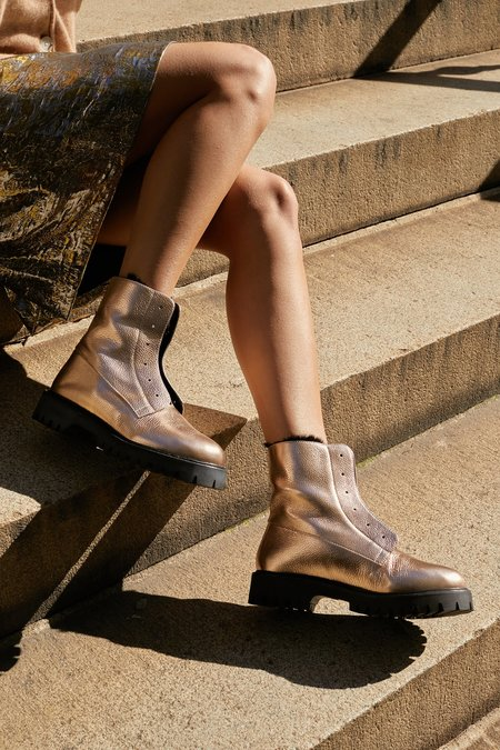 AoverA Kian All Weather Boot - Rose Gold