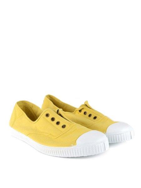 Victoria Maiz Pump - Yellow