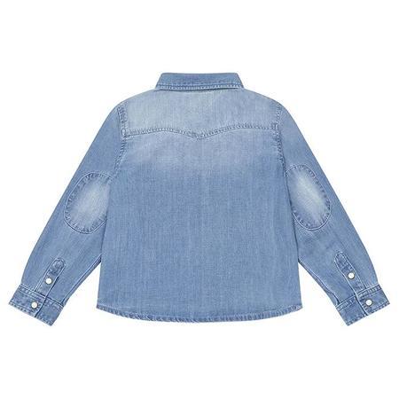 Kids Bonton Saturday Shirt - Denim Blue