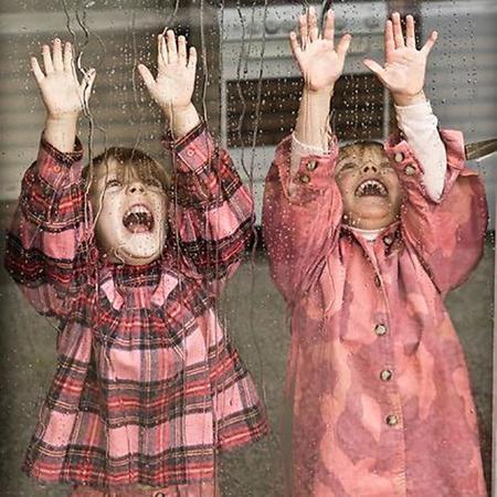 KIDS Morley Child Martha Blouse - Clover Pink Plaid