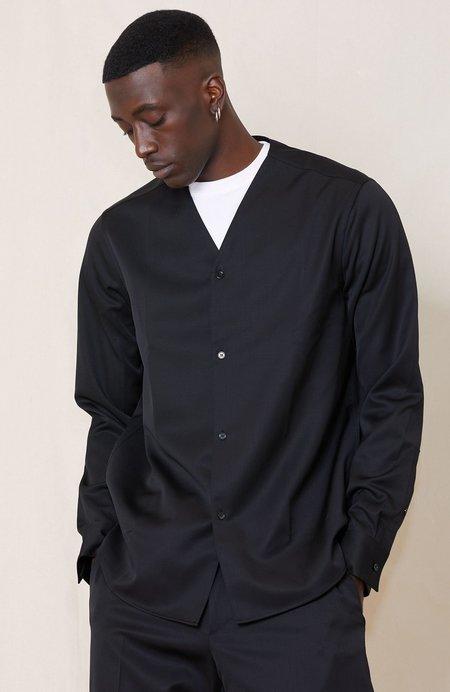 OAMC Wool Drill Spirit Shirt - Black