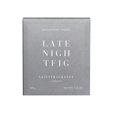 Saint Fragrance Late Night Fig Candle