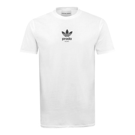 Kustom London Milano Sport Logo T-Shirt - White