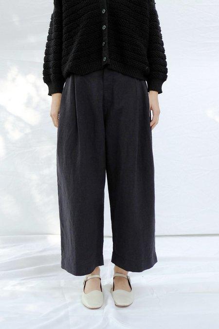 Micaela Greg Pleated Trouser - Black
