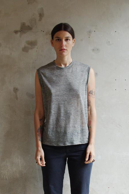UNIFORME Mitchell Tee - Featherweight Japanese Linen
