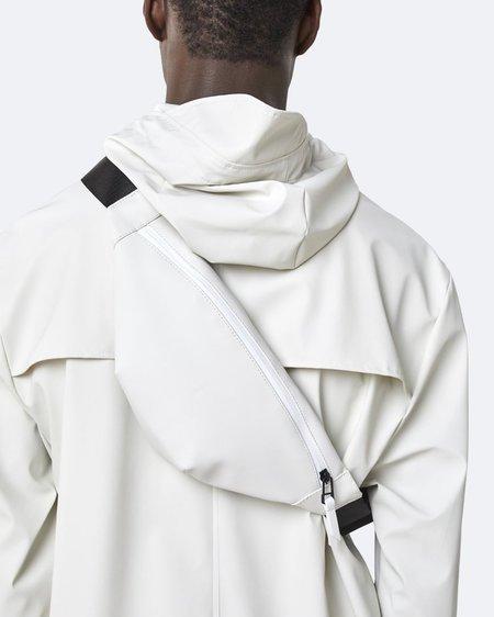 Unisex Rains Riñonera Bum Bag Mini - Off White