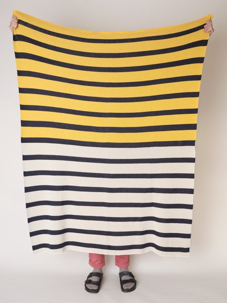 Magill Rugby Blanket - Yellow/Navy
