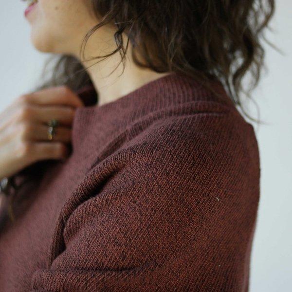 Curator Crop Sweater in Spice