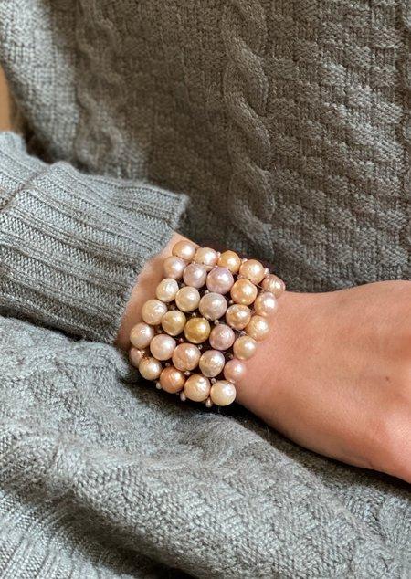 Martell Natural Pink Pearl Gem Cuff